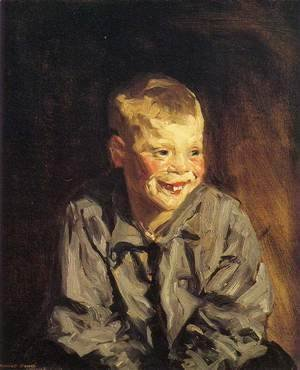 Robert Henri - Dutch Joe (Jopie van Slouten)