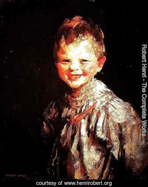 Laughing Child, Henri, 1907