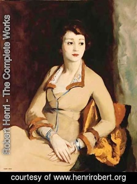 Robert Henri - Portrait of Fay Bainter