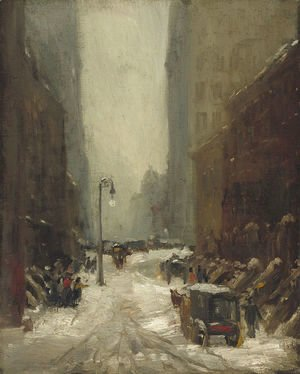 Robert Henri - Snow in New York