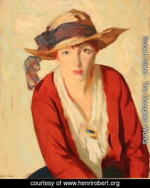 Robert Henri - The Beach Hat