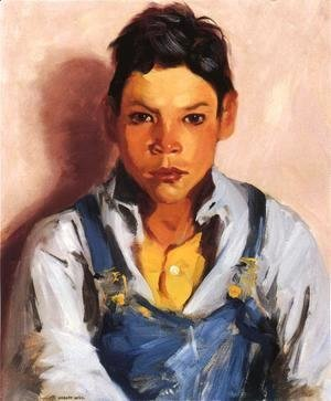 Robert Henri - The Goat Herder (Mexican Boy)