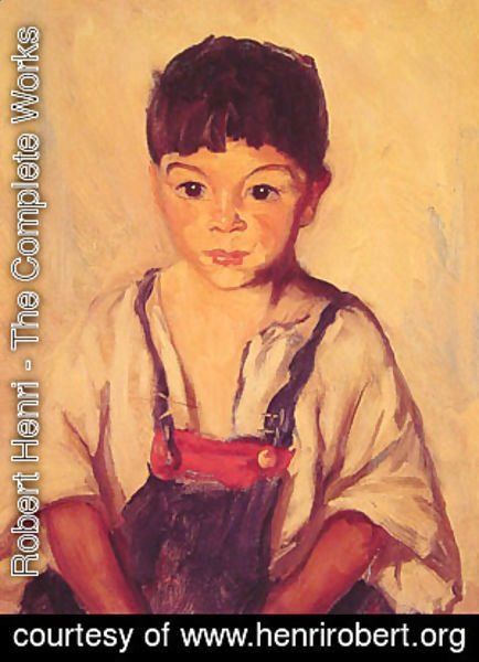 Robert Henri - Gypsy Boy