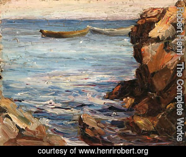 Robert Henri - Perkins Cove, Ogonquit, Maine