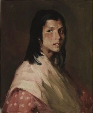 Robert Henri - The Gypsy Girl