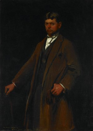 Robert Henri - Portrait of Carl Gustav Waldeck