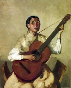 Robert Henri - Blind Spanish Singer