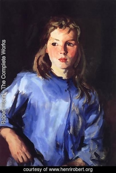 Robert Henri - Blond Bridget Lavelle