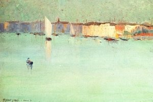Robert Henri - Early Morning  Venice