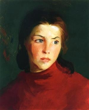 Robert Henri - Irish Girl (Mary Lavelle)