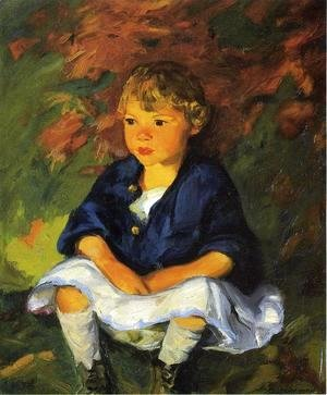 Robert Henri - Little Country Girl