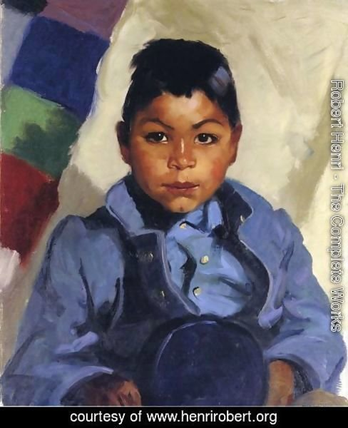 Robert Henri - Little Indian