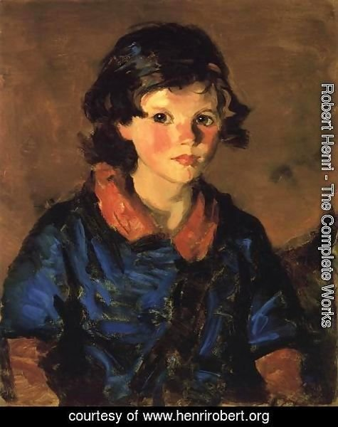 Robert Henri - Mary Ann Caferty