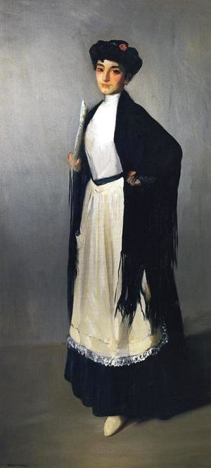 Robert Henri - Modiste Of Madrid