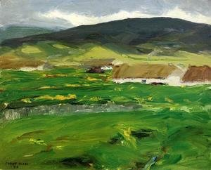 Robert Henri - O Malley Home Aka Achill Island  County Mayo  Ireland