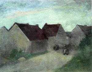 Robert Henri - Old Houses In Normandie