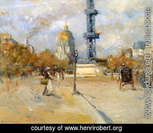 Robert Henri - Place In Paris