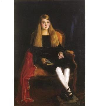 Robert Henri - Portrait Of Anne M  Tucker