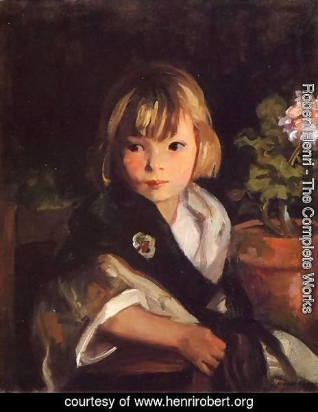 Robert Henri - Portrait Of Boby