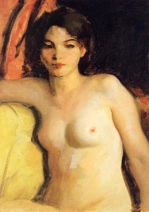 Robert Henri - Portrait Of Doris Trautman