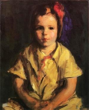 Robert Henri - Portrait Of Faith
