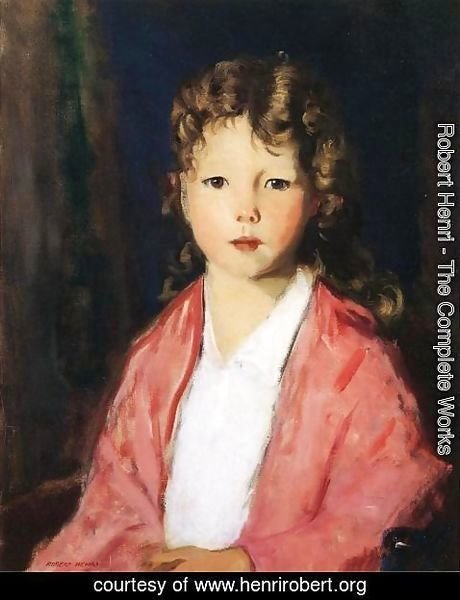 Robert Henri - Portrait Of Jean McVitty