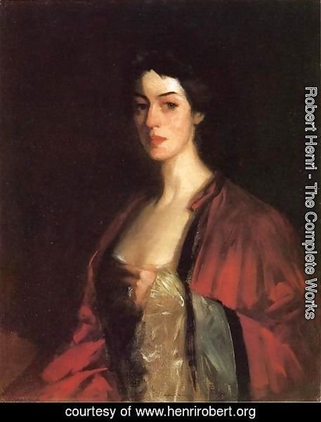 Robert Henri - Portrait Of Katherine Cecil Sanford