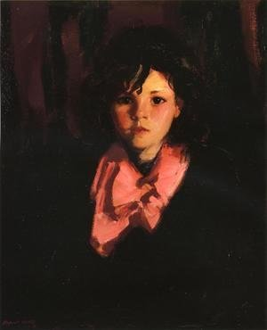 Robert Henri - Portrait Of Mary Ann