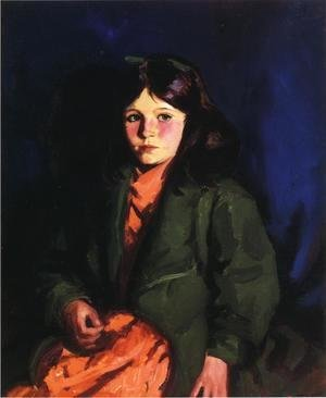 Robert Henri - Portrait Of Mary Patten
