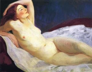 Robert Henri - Reclining Nude (Barbara Brown)