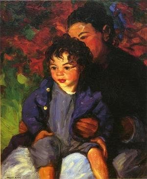Robert Henri - Sammy And His Mother