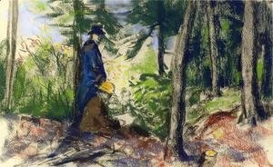 Robert Henri - Sketchers In The Woods2