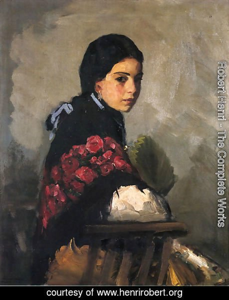Robert Henri - Spanish Girl