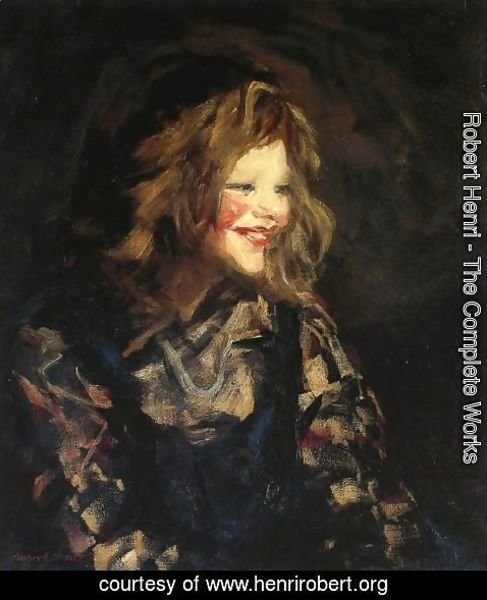 Robert Henri - Spanish Urchin Aka Laugh Cheeks