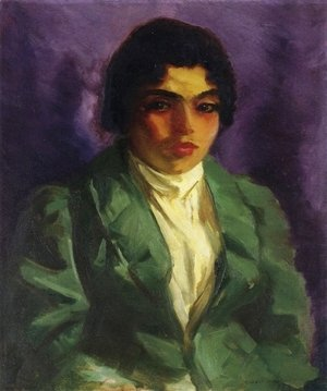 Robert Henri - The Green Coat