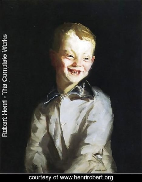 Robert Henri - The Laughing Boy Aka Jobie