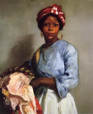 Robert Henri - The Laundress