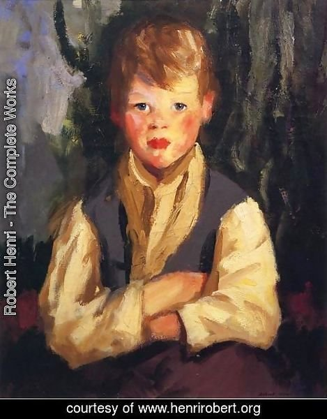 Robert Henri - The Little Irishman