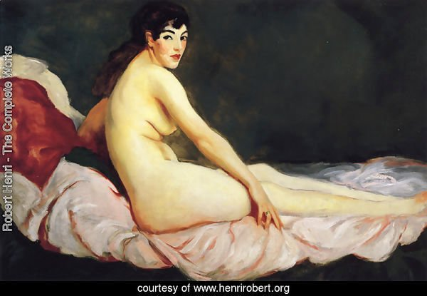 Viv Reclining Aka Nude