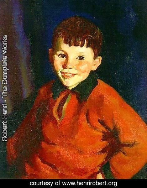 Robert Henri - Smiling Tom  1924